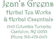 Jean's Greens Herbal Tea Works & Herbal Essentials